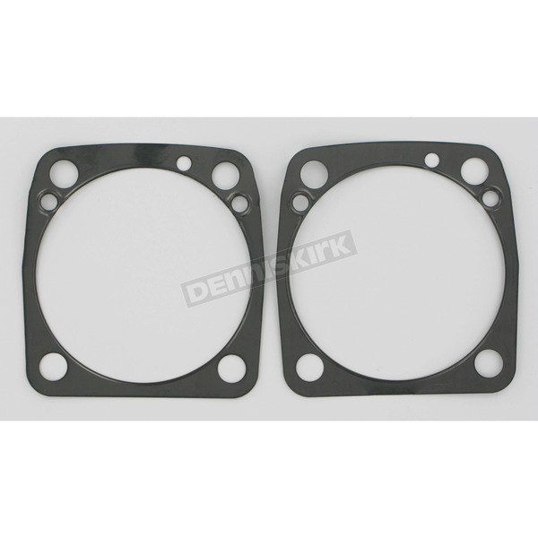 Single-Layer Steel (SLS) Base Gaskets w/3 5/8 in. or 3 3/4 in. Bore, .010 in. - C9532