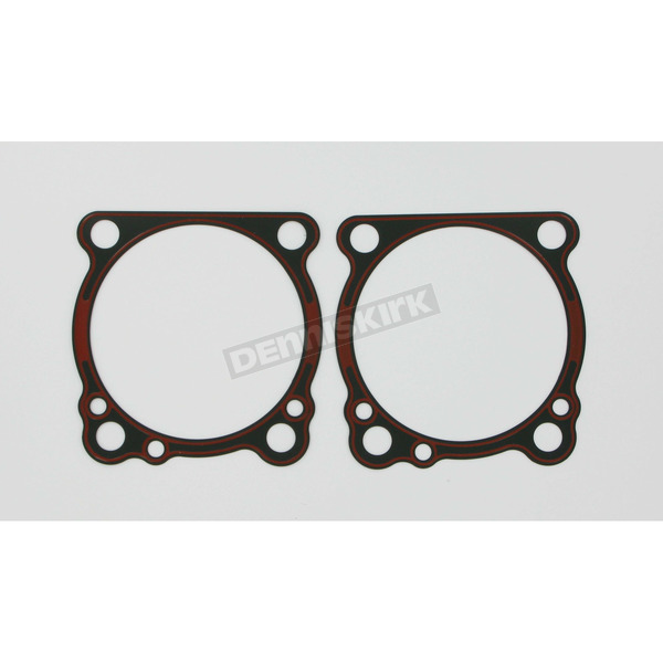Genuine James Cylinder Base .16 in. Rubber Coated Metal Gasket w/Bead - 16774-96-XT1