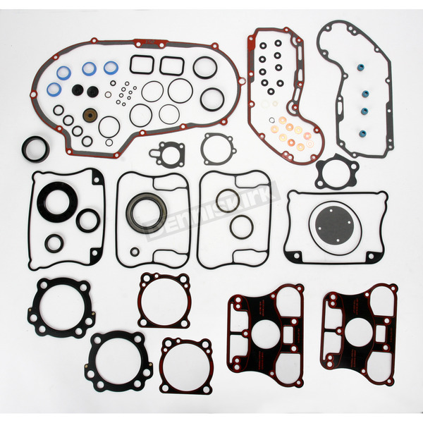 Genuine James Engine Gasket Set w/MLS Head Gaskets - 17026-91-MLS