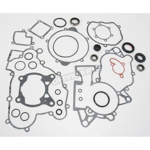 Moose Complete Gasket Set with Oil Seals - 0934-1957