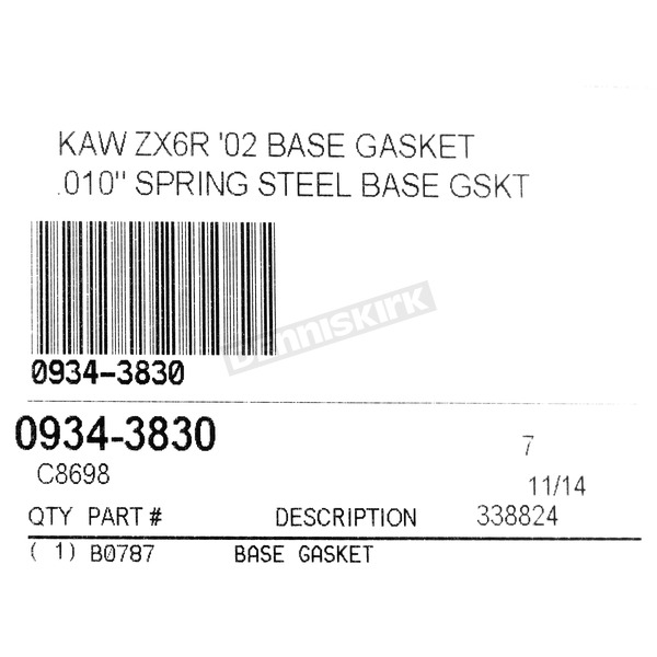 Cometic Base Gasket - C8698