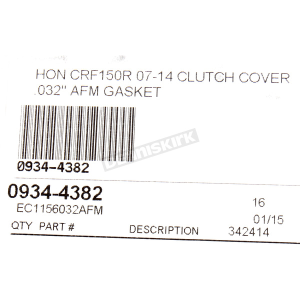 Cometic Clutch Cover Gasket - EC1156032AFM