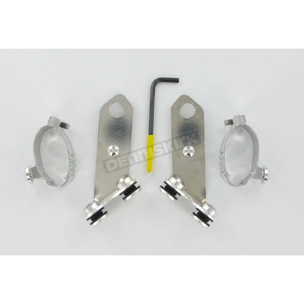 Memphis Shades Fats/Slims Lowers Quick Change Design Mounting Kit for Models w/o Light Bar - MEM9894