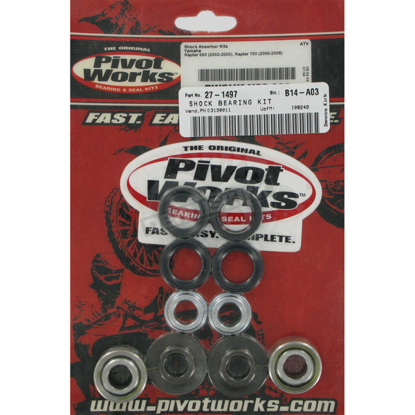 Pivot Works Rear Shock Bearing Kit (Non-current stock) - PWSHK-Y23-000