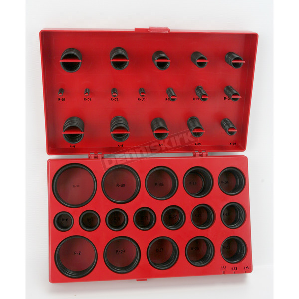 Performance Tool 407-Piece SAE O-Ring Assortment - W5202