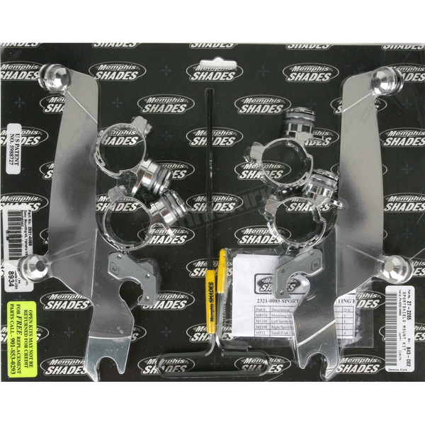 Memphis Shades No-Tool Trigger-Lock Hardware Kit for Sportshields - MEM8934