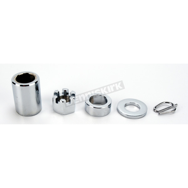 Colony Rear Axle Spacer/Nut Kit - 2258-5