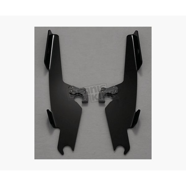 Memphis Shades Black Batwing Plate-Only Hardware - MEM8892
