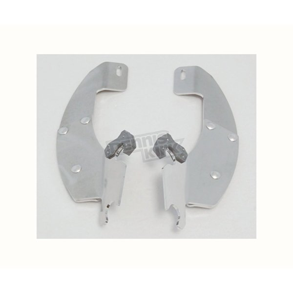 Memphis Shades Polished Batwing Plate-Only Hardware - MEK1815