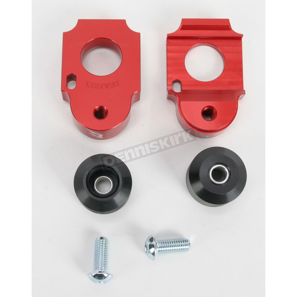 Driven Racing Red Axle Block Sliders - DRAX-102-RD