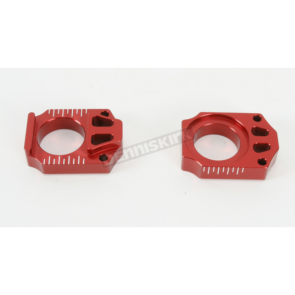 Works Connection Red Axle Blocks - 17-037