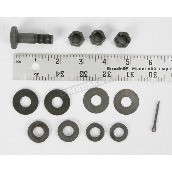 Colony Parkerized Upper Motor Mount Hardware Kit - 2650-13