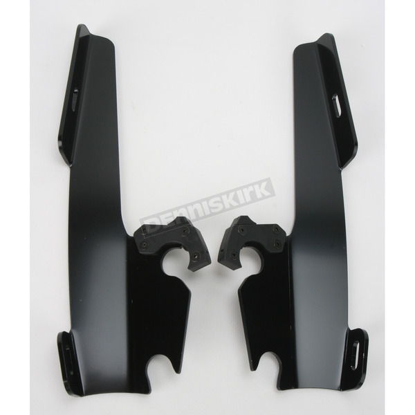 Memphis Shades Black No-Tool Trigger-Lock Plate Only Kit to Change from Sportshield to Fats/Slims or Batwing - MEB8867