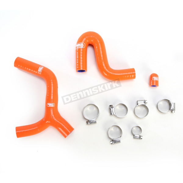 Moose Orange Race Thermostat Bypass Radiator Hose Kit - 1902-0500