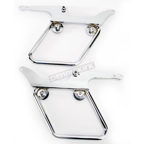 National Cycle Chrome Mounting Hardware for Cruiseliner Saddlebags - KIT-SBC405