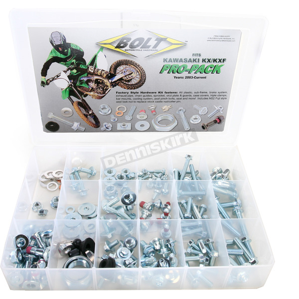 Bolt Motorcycle Hardware KX/KXF Pro Pack Factory Style Hardware Kit - BMH-KXPP