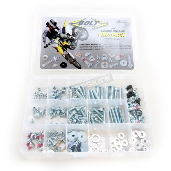 Bolt Motorcycle Hardware RM/RMZ Pro Pack Factory Style Hardware Kit - BMH-RMPP