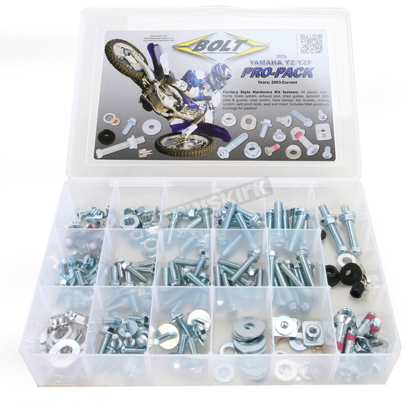 Bolt Motorcycle Hardware YZ/YZF Pro Pack Factory Style Hardware Kit - BMH-YZPP