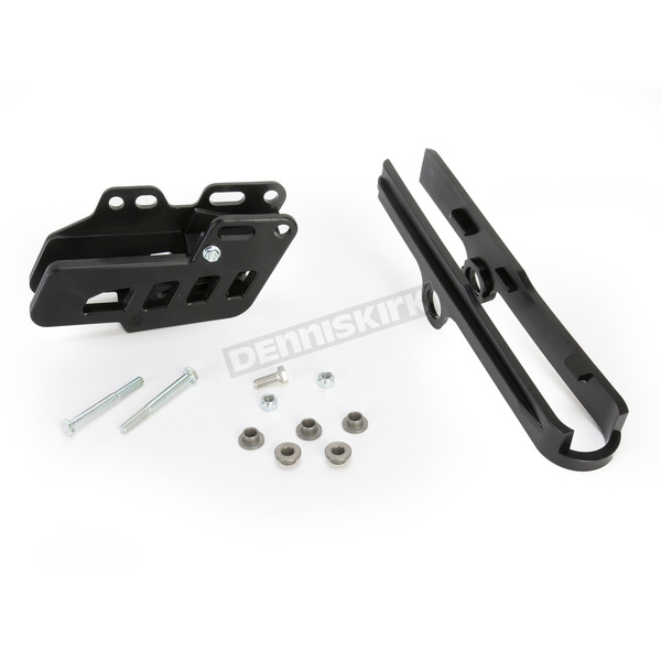Acerbis Black Chain Guide Block and Slider Set - 2404230001
