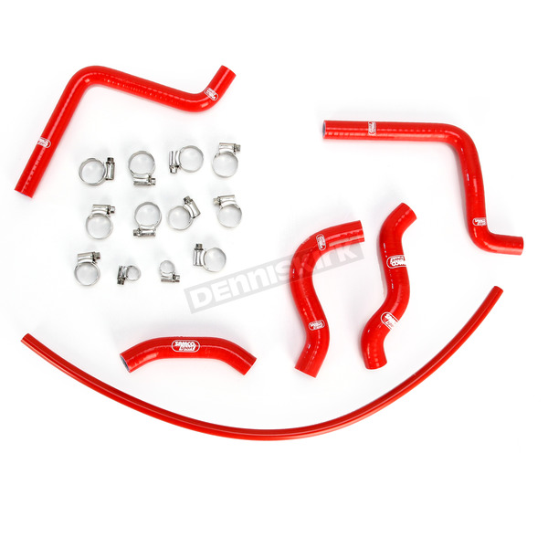 Moose Red Race Fit Radiator Hose Kit - 1902-0943