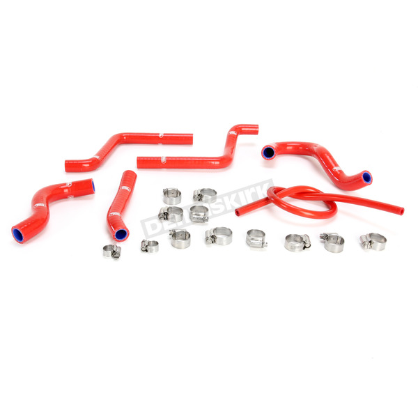 Moose Red Race Fit Radiator Hose Kit - 1902-0944