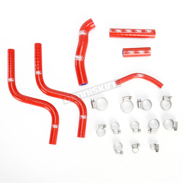 Moose Red Race Fit Radiator Hose Kit - 1902-0945