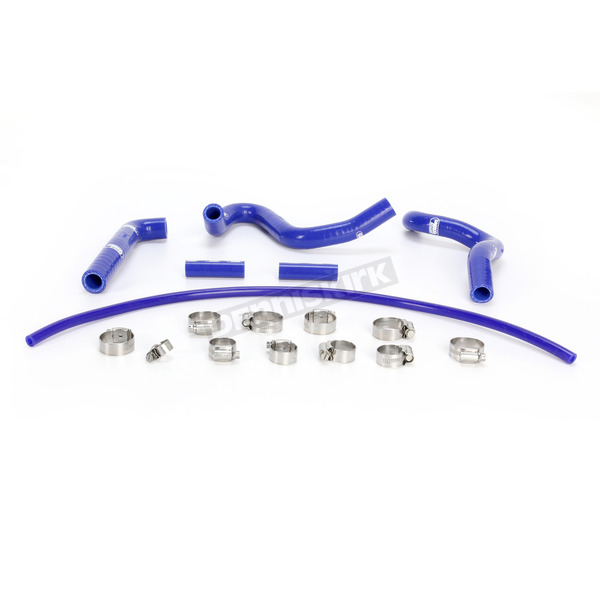 Moose Blue Race Fit Radiator Hose Kit - 1902-0966