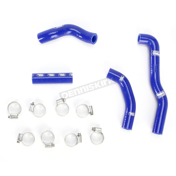 Moose Blue Race Fit Radiator Hose Kit - 1902-0968