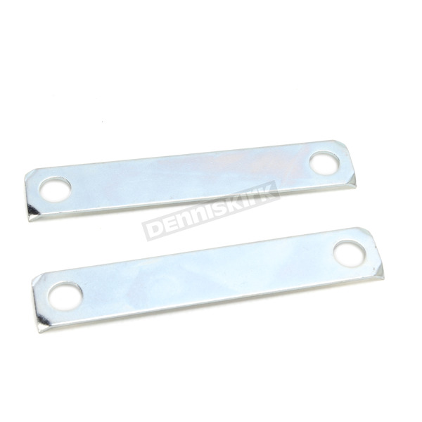 Eastern Motorcycle Parts Zinc-Plated Front Fender Mount Lock Plate - A-59166-80