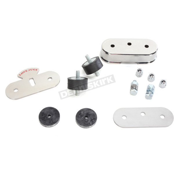 Love Jugs Polished Stainless Vibration-Master Mounting Kit - VM-1