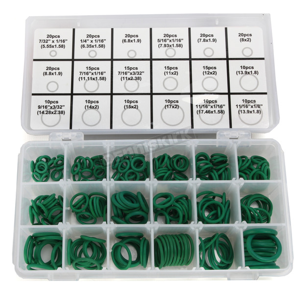Moose Universal Metric and SAE 270 Piece O-ring Assortment - 2402-0163