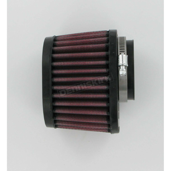 K & N Universal Tapered Oval Clamp-On Air Filter - 3 in. x 4 in. Diameter x 2 3/4 in. Long - RU-1820