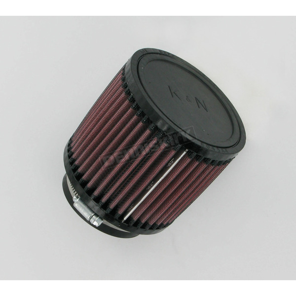K & N Universal Round/Straight Clamp-On Air Filter - 4 1/2 in. Diameter x 4 in. Long - RB-0900