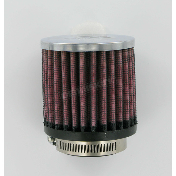 K & N Universal Round/Straight Clamp-On Filter - 3 in. Diameter x 3 in. Long - RC-1120