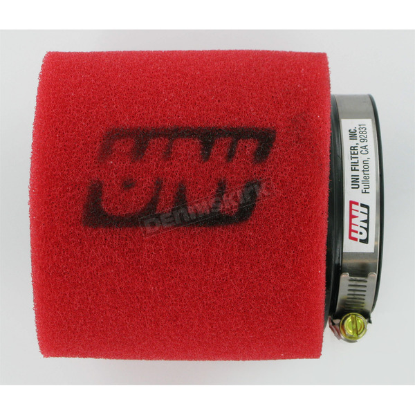 UNI Two-Stage Pod Filter w/Straight Flange - 2 3/4 in. I.D. x 4 in. L - UP-4275ST