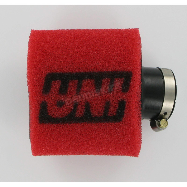 UNI Two-Stage Pod Filter w/Angled Flange - 1 in. I.D. x 3 1/2 in. O.D. x 3 in. L - UP-4112AST