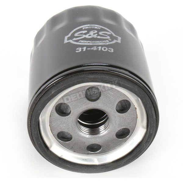 S&S Cycle Black Oil Filter - 31-4103