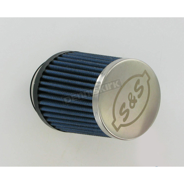 S&S Cycle Blue Conical Air Filter - 17-1023