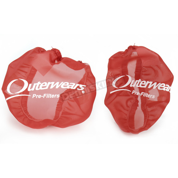 Outerwears Red Side Intake Vents - 20-2712-03