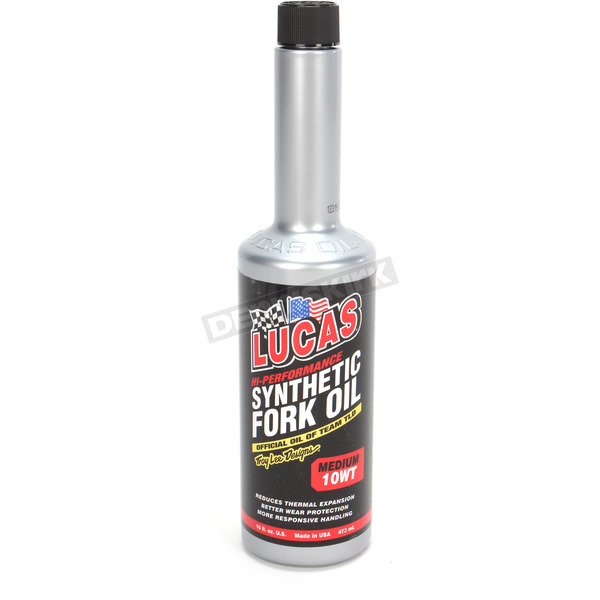 Lucas Oil Medium Weight 10W Synthetic Fork Oil - 10772