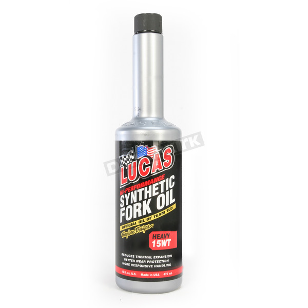 Lucas Oil Heavy Weight 15W Synthetic Fork Oil - 10773