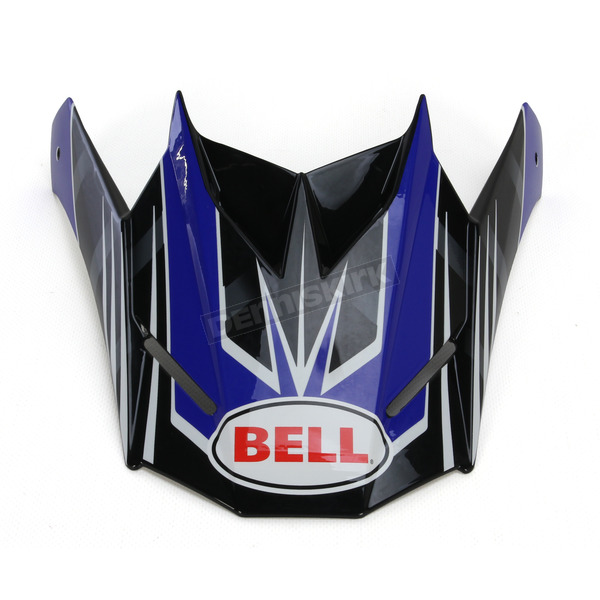 Bell Helmets Blue/Black Replacement Visor for the SX-1 Race Helmet - 7071388
