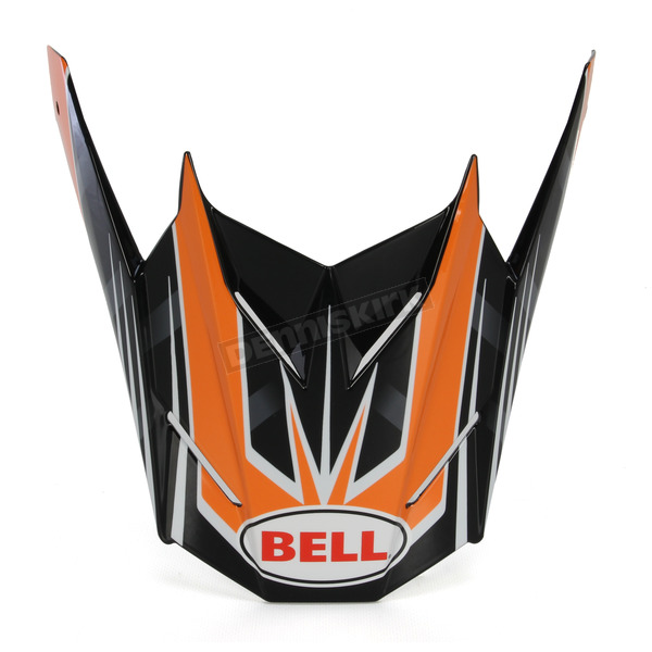 Bell Helmets Orange/Black Replacement Visor for the SX-1 Race Helmet - 7071392