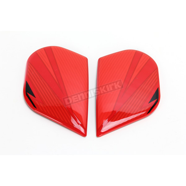 Icon Red Primary Alliance GT Sideplates - 0133-0915