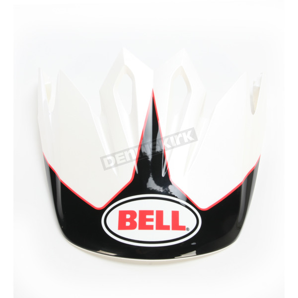 Bell Helmets Black/White Visor for MX-9 Stryker Helmets - 7081609