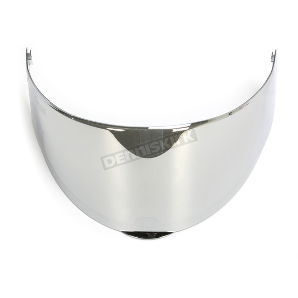 LS2 Chrome Face Shield for Vector/Citation Helmets - 02-702