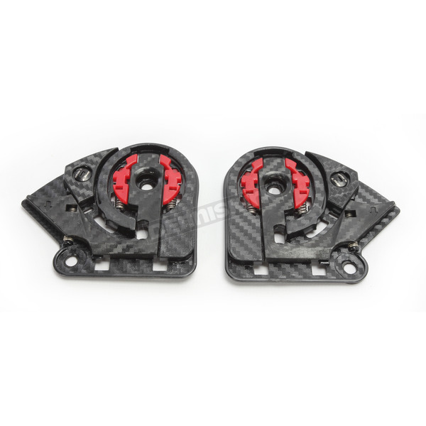 LS2 Shield Base Plate Kit for Breaker/Infinity/Vector Helmets - 02-627