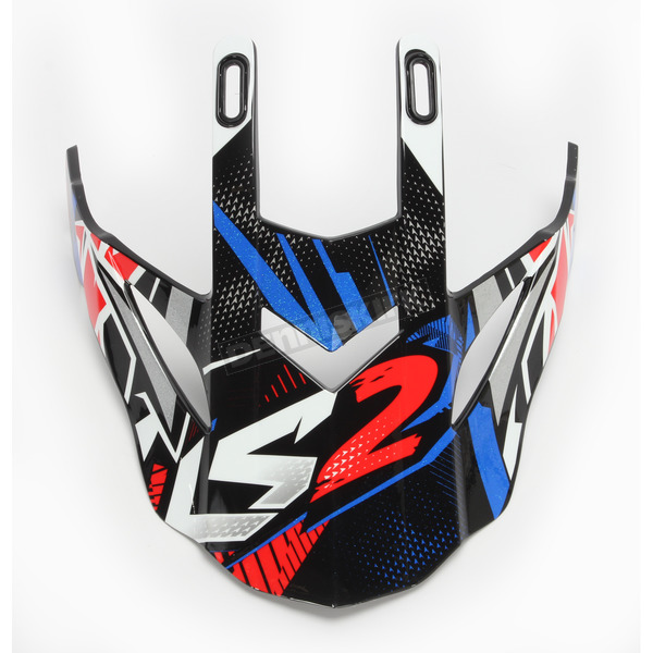 LS2 Blue/Red for Fast/Fast Mini Strong Helmets - 03-157