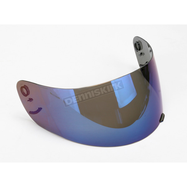 AFX Anti-Scratch Blue Mirror Shield for AFX Helmets - 0130-0237