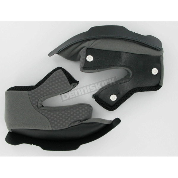 AFX Black Cheek Pads for AFX Helmet  - 0134-0633